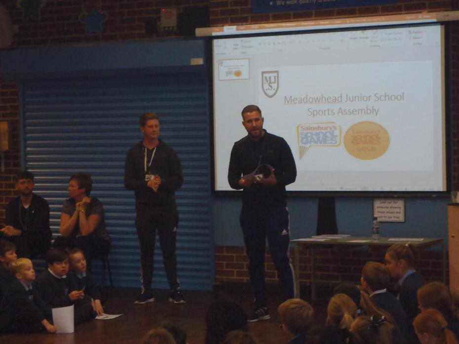 Mr Crowther talks about after school clubs.
