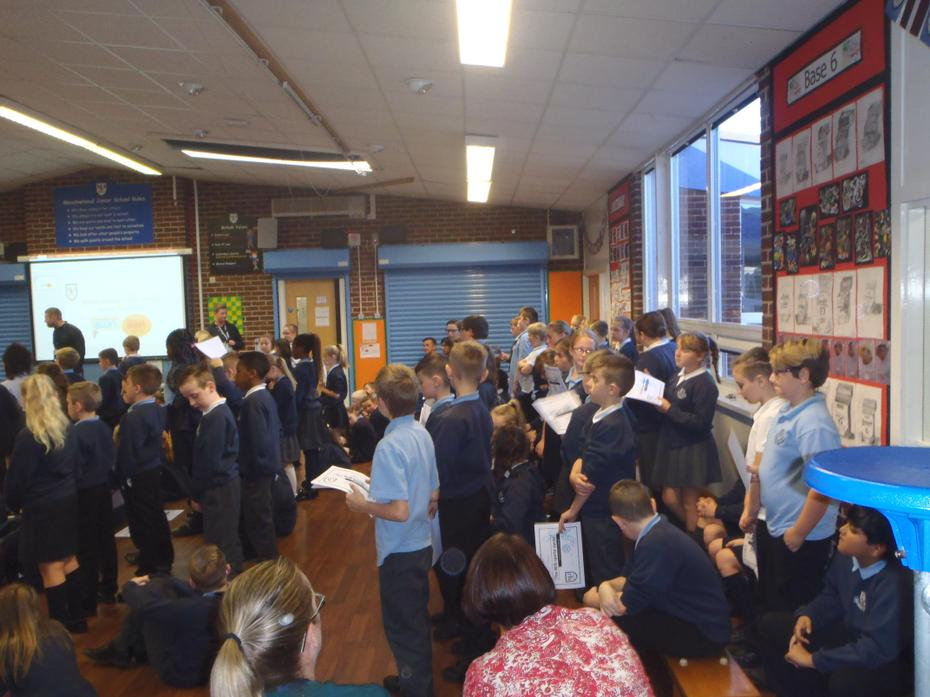 Stand up if you attend an after school club!!