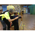 Developing new skills in a new sport