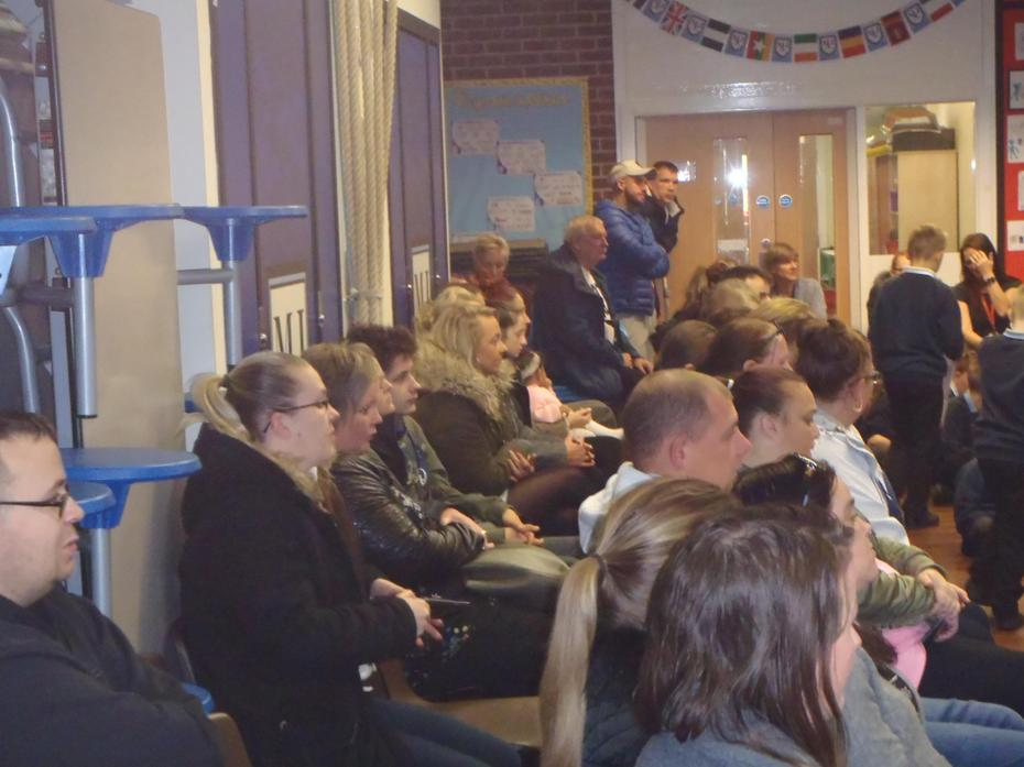 A great turn out from parents and carers