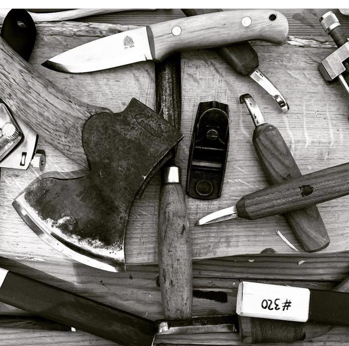 These are just some of the tools they take with them.