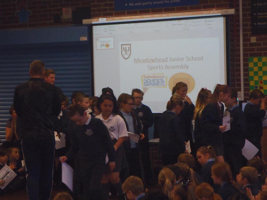 Even more children receiving their certificates