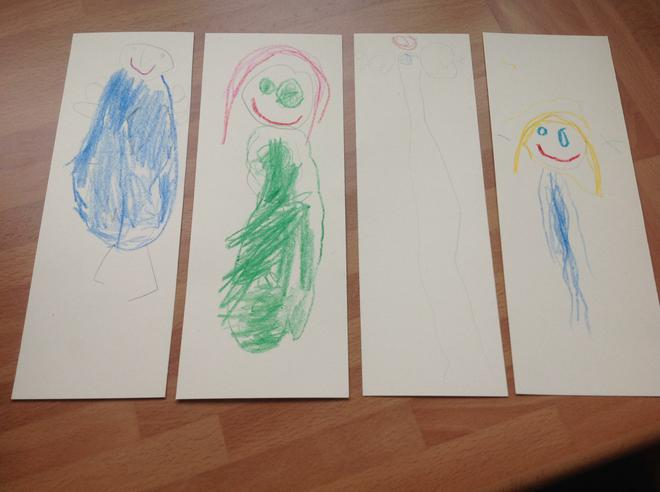 I can see some very familiar characters! Willow class I am so impressed with your mark making skills!