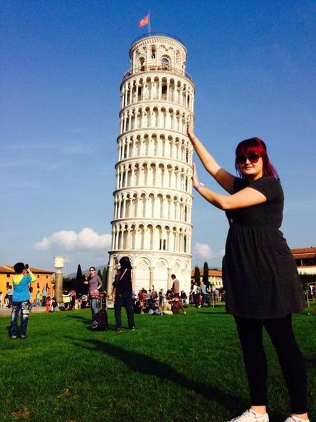 The Leaning Tower of Pisa!
