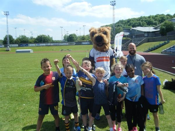 Year 3 and Year 4 Rugby Megafest 11.06.15