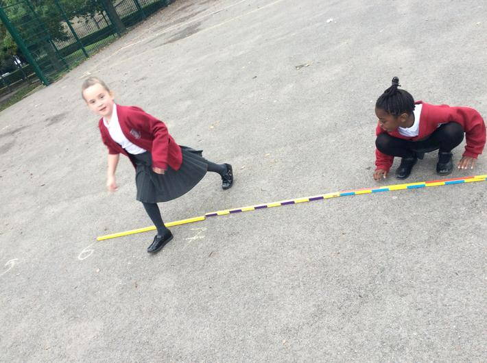 Measuring our track