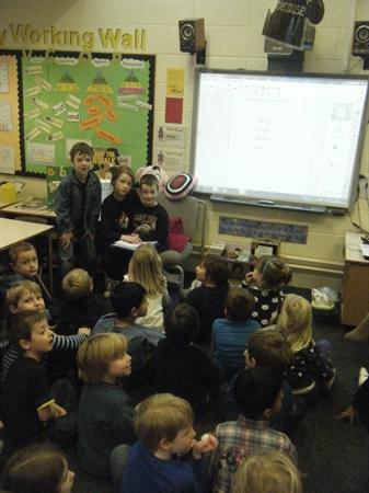Takeover Day in Year 1