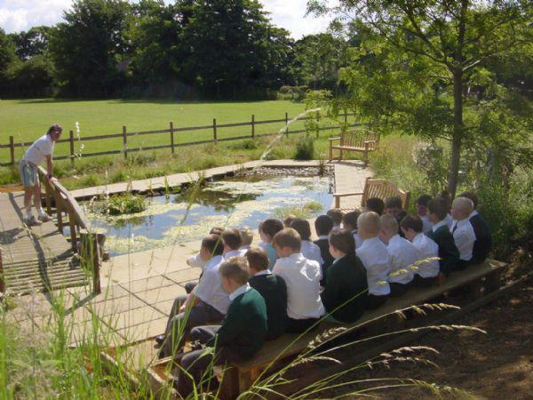 Wild life outdoor teaching area