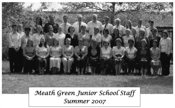 Meath Green Junior School Staff Summer 2007