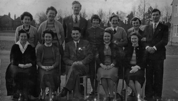 First staff photo June 1959
