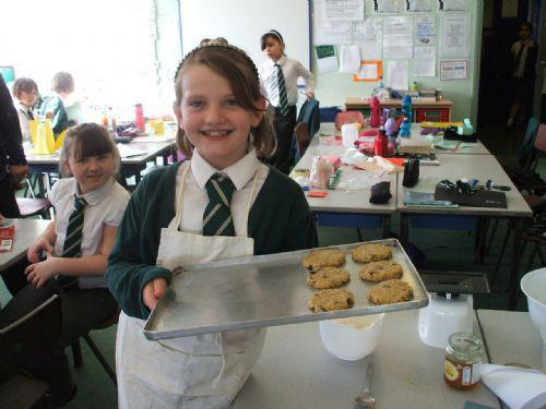 Children cooked up some scrumptious food