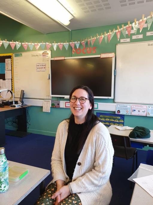 Mrs Moore Teacher Year 3