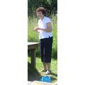 Gill Sharpe at Bough Beach (Yr5 School Trip)
