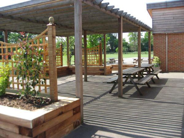 Playground quiet area