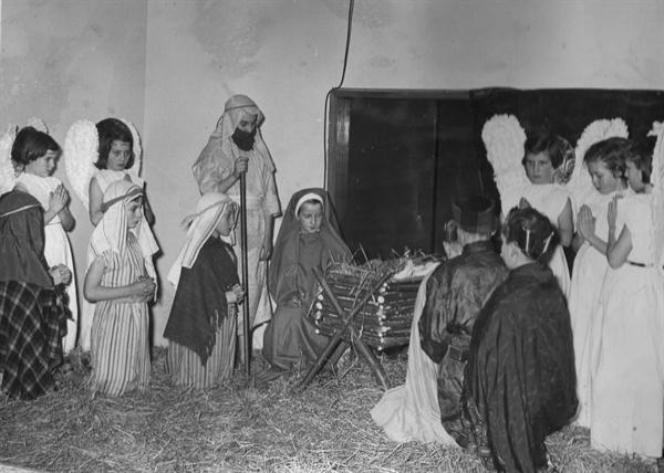first carol service 1958