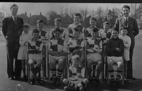 first school soccer team 1958