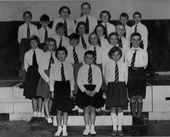 The school choir in 1959