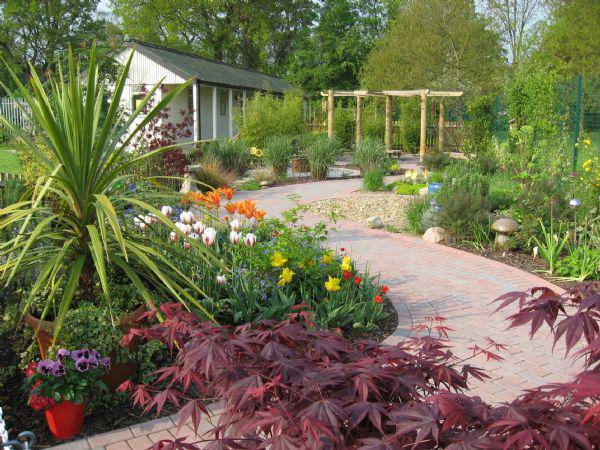 Our award winning Sensory Garden