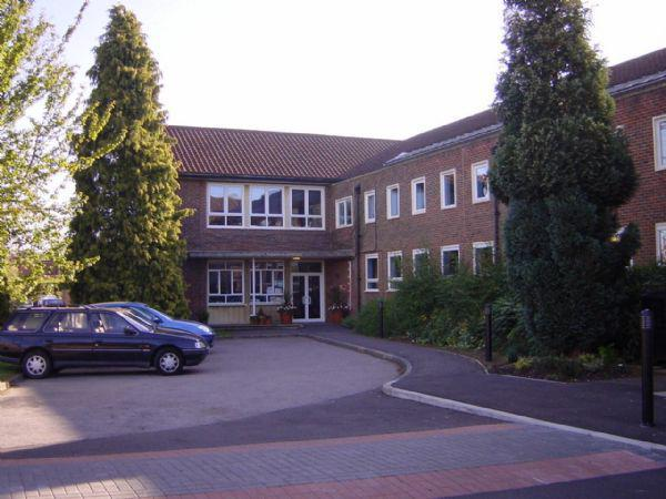 Entrance to our school