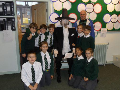 Guy Fawkes pays a visit to MGJ
