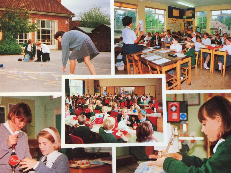Meath Green County Middle School circa 1991