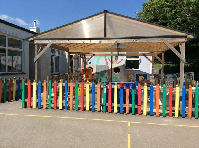 The Pencil Park – Acorn Class' outdoor space