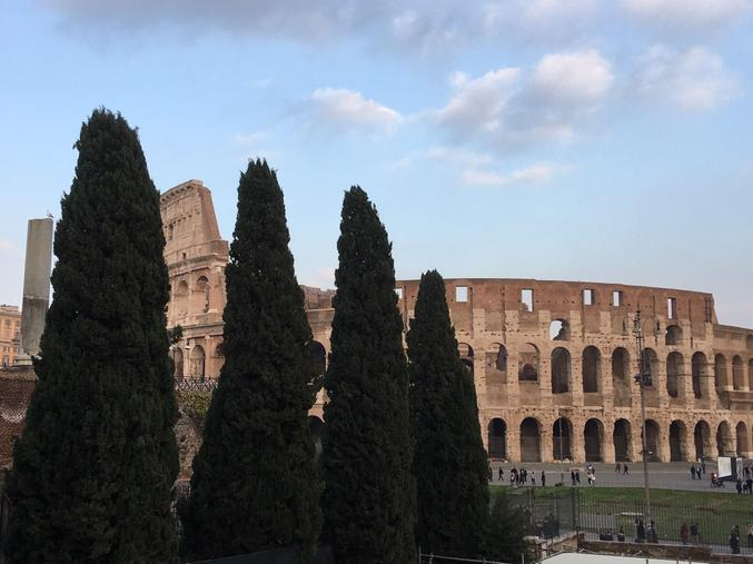 The Colosseum, Rome. (Credit: S. Bristow)
