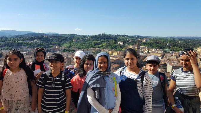 We climbed 463 steps (Il Duomo)