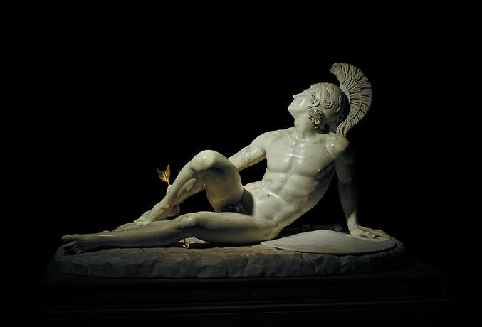 The Wounded Achilles, 1825, Filippo Albacini