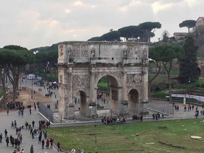 The Constantine Arch, Rome. (Credit: S. Bristow)