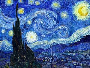 'The Starry Night' by Vincent Van Gogh