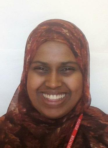 Miss Abdiaziz - Year 3 SEND TA (AET Level 2)