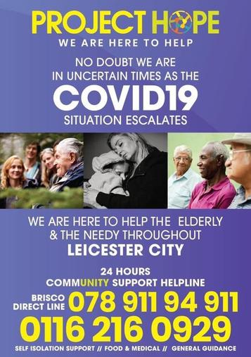 Leicester City community support