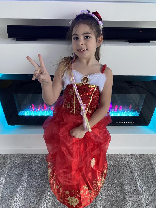 Sienna's costume for World Book Day