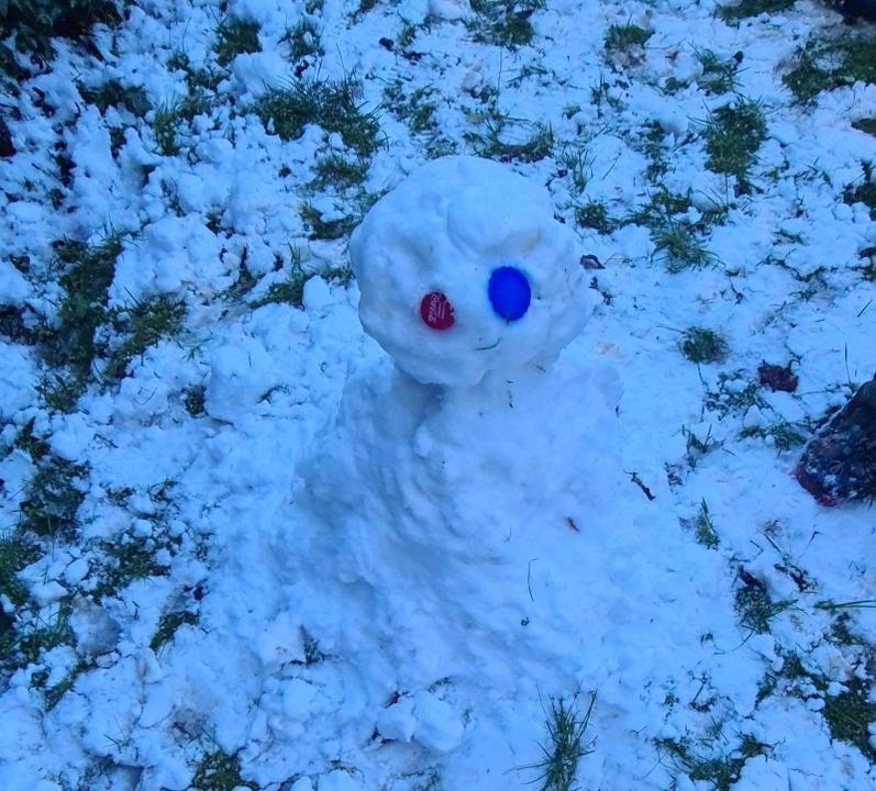 Archie's snowman