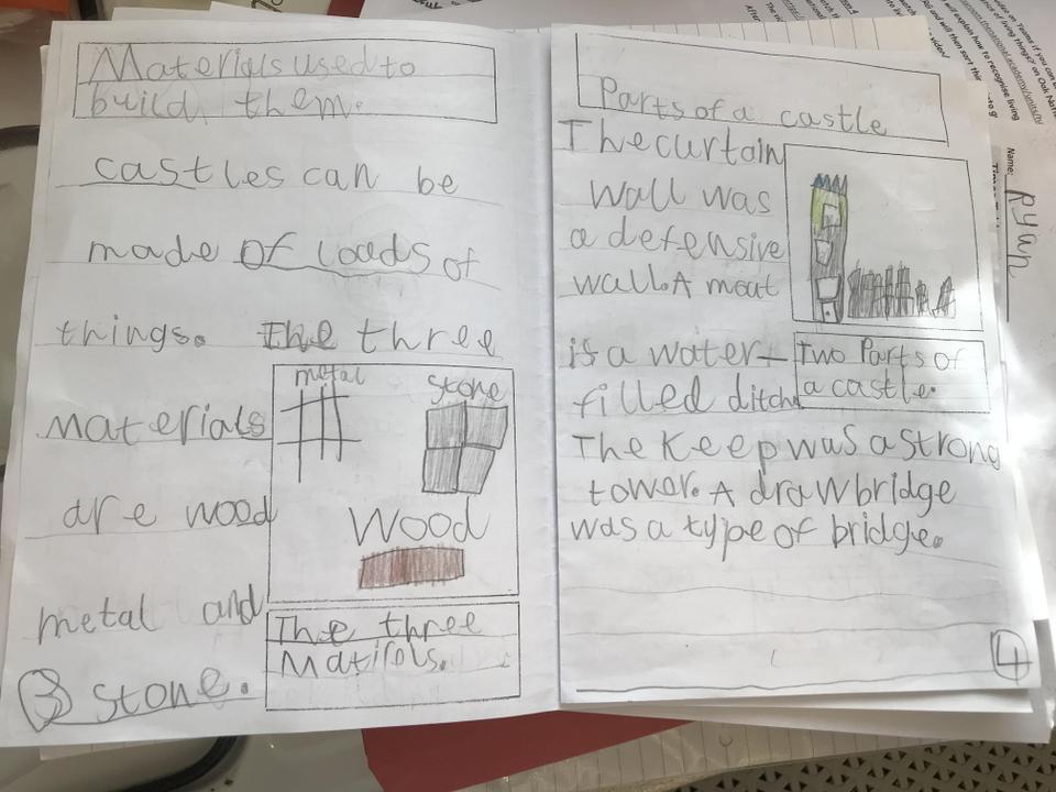 Ryan's castle booklet