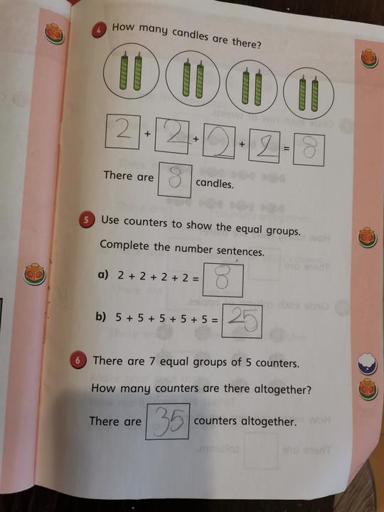 Maya's maths 2.3.21