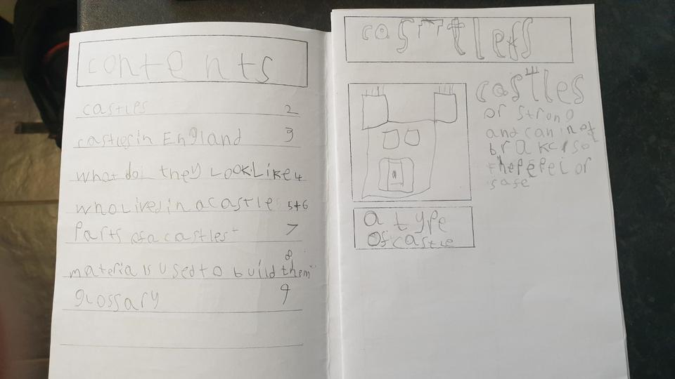 Simon's castle booklet