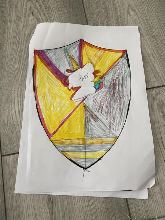 Sienna's shield