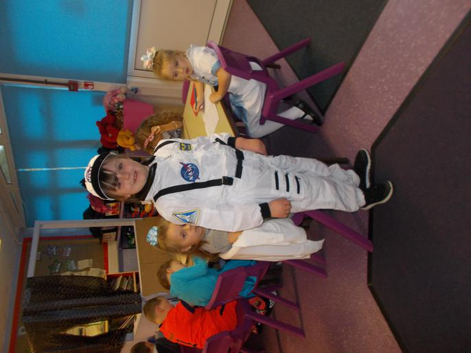 Our very own astronaut in Y2!