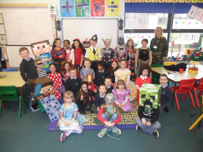Dressing up as our favourite book characters