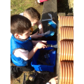 We have been creating our own Bug Hotel.