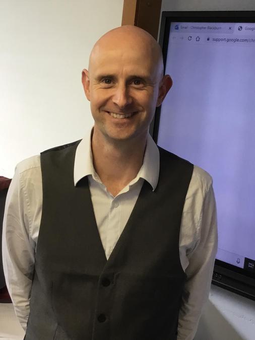 Mr Blackburn (Deputy Head / Class 5 teacher)