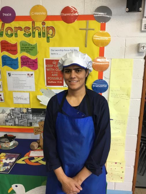 Mrs Nadeen (Kitchen Assistant)