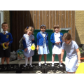 We formed a band after being inspired by Class 4.