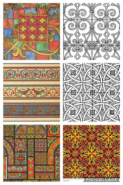 Medieval patterns
