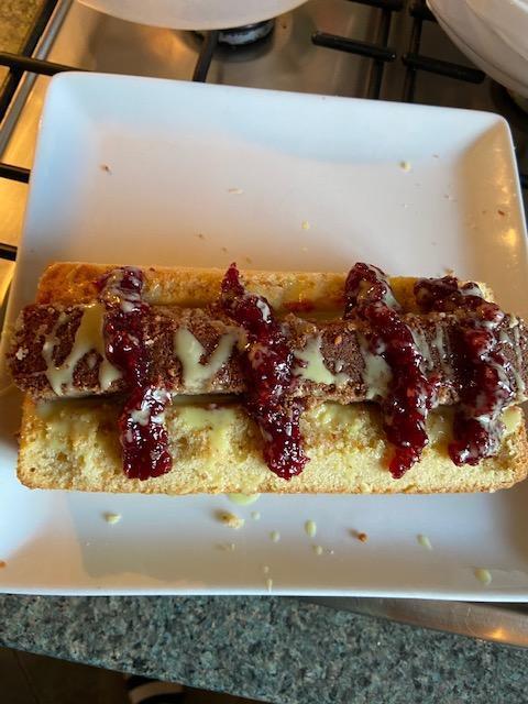 Jenson's imitation hot dog cake