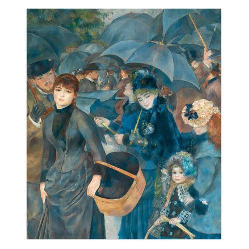 The Umbrellas Painting by Pierre-Auguste Renoir