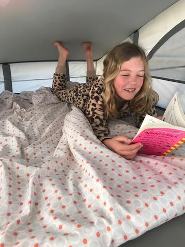 Camping reading 🔦