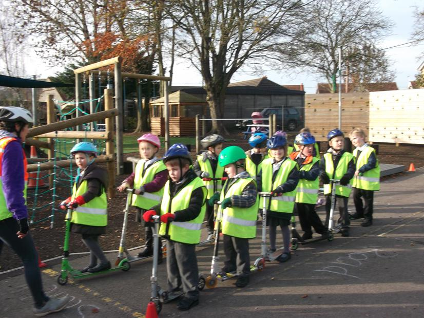 Year 1 and 2 learn safety skills